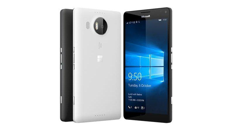MIcrosoft Lumia 050 and 950XL